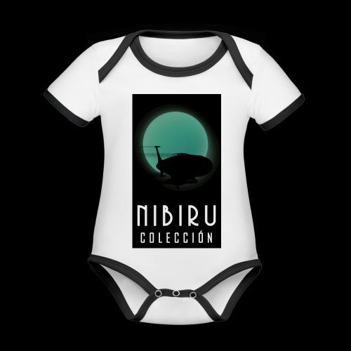 colección Nibiru - Body contraste para bebé de tejido orgánico
