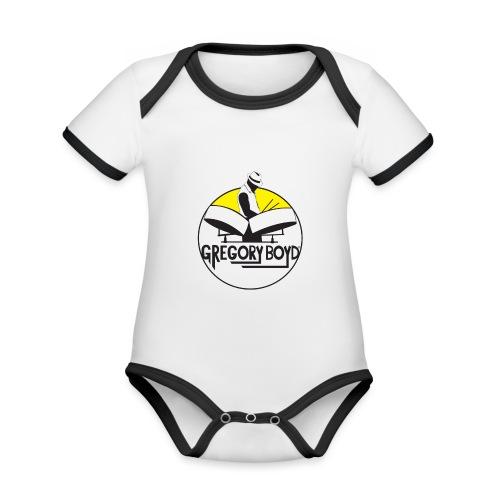 INTRODUKTION ELEKTRO STEELPANIST GREGORY BOYD - Kortærmet økologisk babybody i kontrastfarver