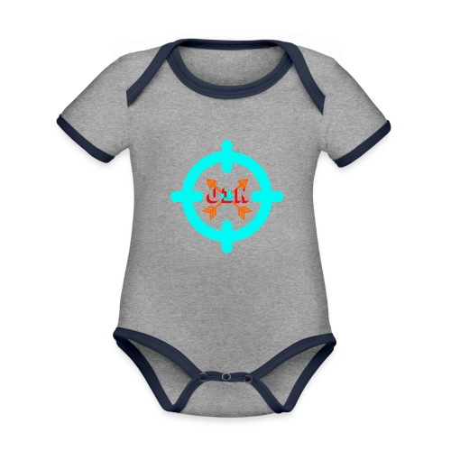 Targeted - Organic Baby Contrasting Bodysuit