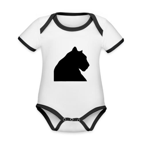 panther - Baby Bio-Kurzarm-Kontrastbody