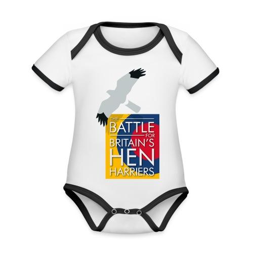 New for 2017 - Women's Hen Harrier Day T-shirt - Organic Baby Contrasting Bodysuit