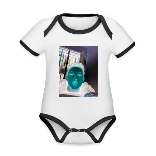 Fletch wild - Organic Baby Contrasting Bodysuit
