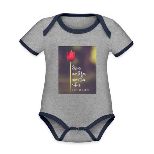 IMG 20180308 WA0027 - Organic Baby Contrasting Bodysuit