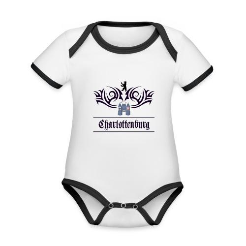 charlottenburg_tribal - Baby Bio-Kurzarm-Kontrastbody