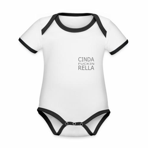 Cinda fuckin Rella - Baby Bio-Kurzarm-Kontrastbody
