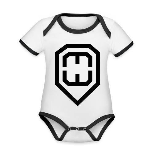 jaymosymbol - Organic Baby Contrasting Bodysuit