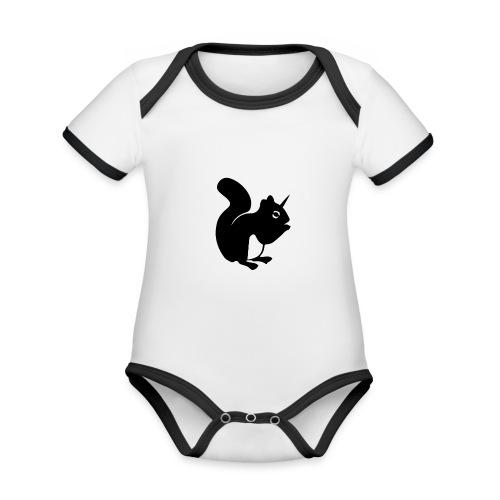 einho rnchen png - Baby Bio-Kurzarm-Kontrastbody