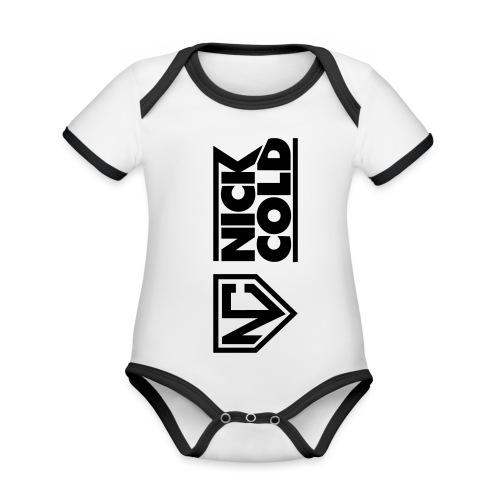 Nick Cold Logo 2017 - Baby Bio-Kurzarm-Kontrastbody