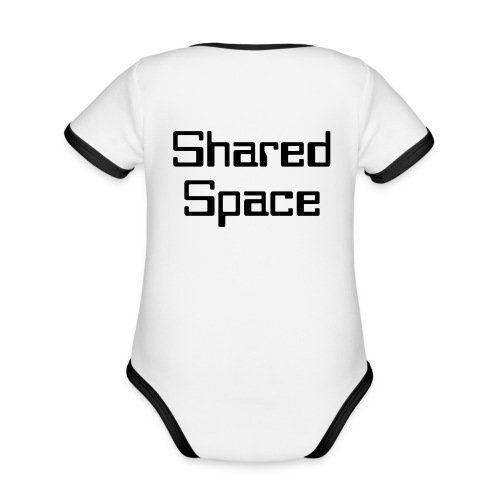 Shared Space - Baby Bio-Kurzarm-Kontrastbody