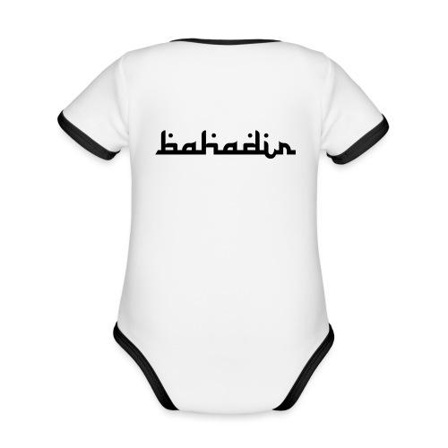 bahadir logo1 png - Baby Bio-Kurzarm-Kontrastbody