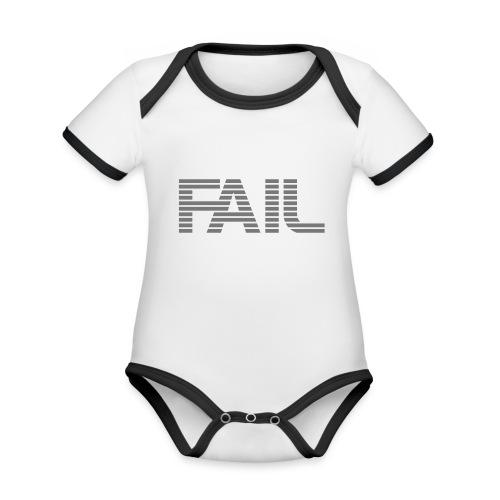 FAIL - Baby Bio-Kurzarm-Kontrastbody