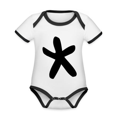 cwtch mawr Hoodies & Sweatshirts - Organic Baby Contrasting Bodysuit