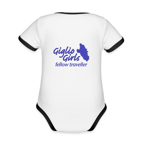 GIGLIOGIRLS_FT - Organic Baby Contrasting Bodysuit