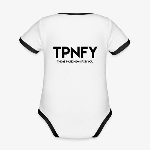 TPNFY - Organic Baby Contrasting Bodysuit