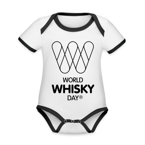 WWD logo - Organic Baby Contrasting Bodysuit