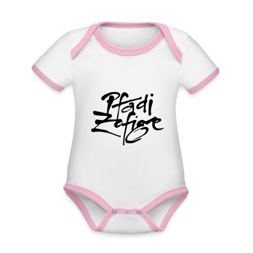 pfadi zofige - Baby Bio-Kurzarm-Kontrastbody