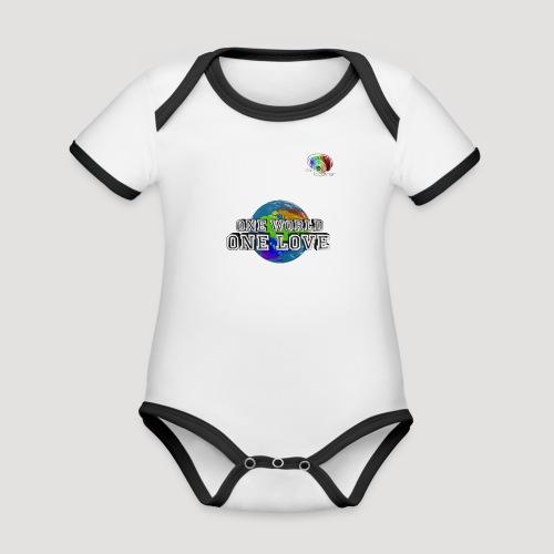 Shirt5 - Baby Bio-Kurzarm-Kontrastbody