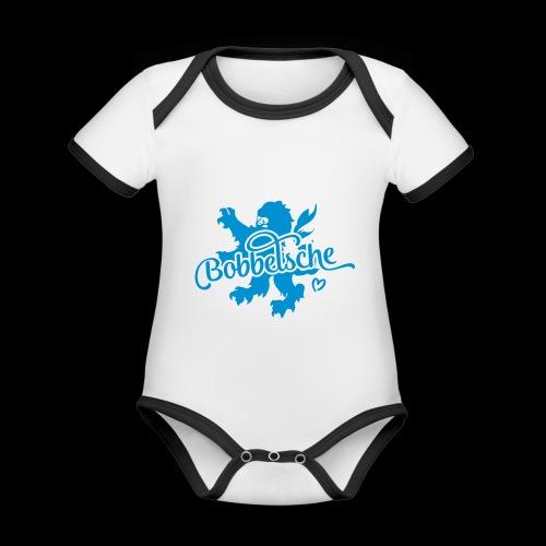 Bobbelsche Boy - Baby Bio-Kurzarm-Kontrastbody