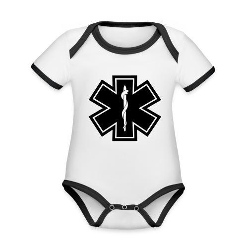 paramedic2 eps - Baby Bio-Kurzarm-Kontrastbody