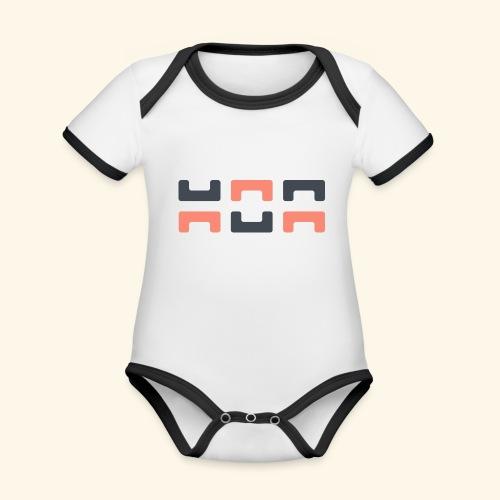 Angry elephant - Organic Baby Contrasting Bodysuit