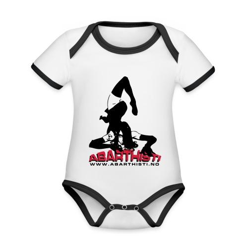 Abarthisti Pinup - Økologisk kortermet kontrast-babybody