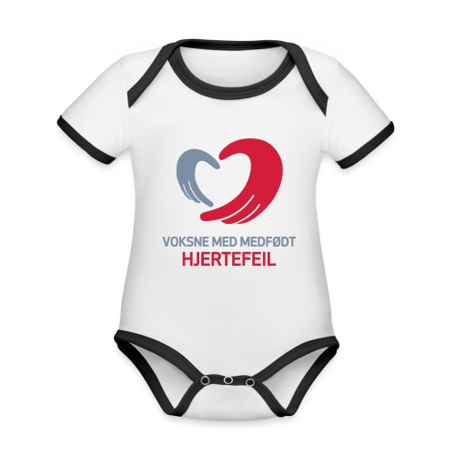 VMH__spreadshirt - Økologisk kortermet kontrast-babybody