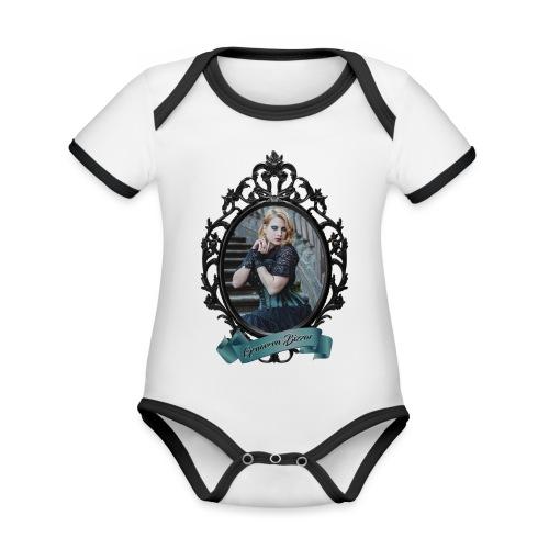 Genoveva Bizzar MOTY 2019 Two Sided Graphics - Organic Baby Contrasting Bodysuit