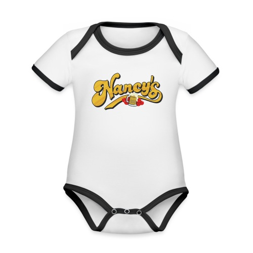 Nancy's Tavern - Organic Baby Contrasting Bodysuit
