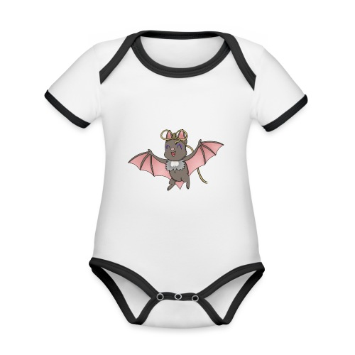 Bat Deeley - Organic Baby Contrasting Bodysuit