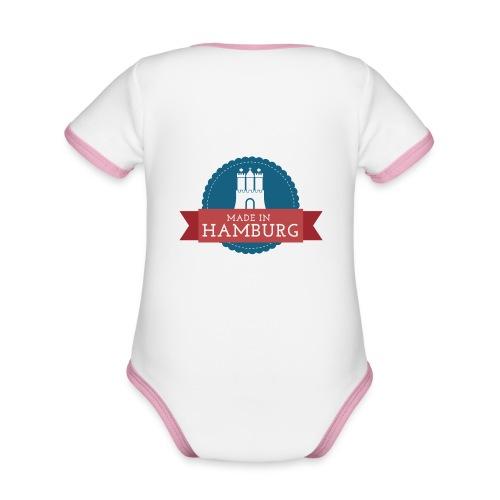 Made in Hamburg - Baby Bio-Kurzarm-Kontrastbody