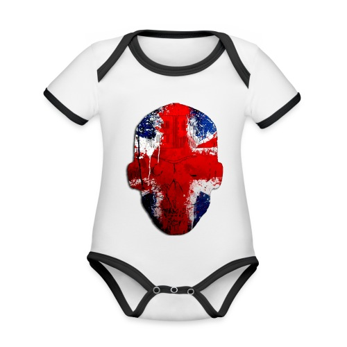 Borg Robot Cap - Organic Baby Contrasting Bodysuit