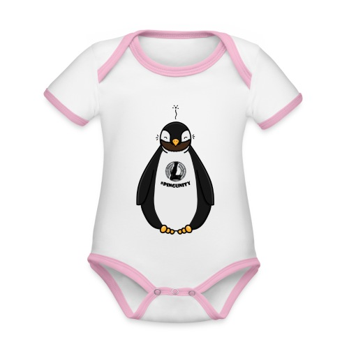 DerLeeZockt Pingu Tasse - Organic Baby Contrasting Bodysuit