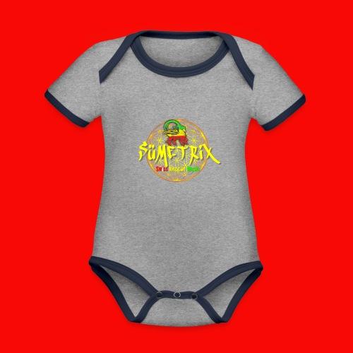 SÜEMTRIX FANSHOP - Baby Bio-Kurzarm-Kontrastbody