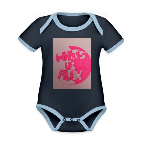 Alex bell - Organic Baby Contrasting Bodysuit
