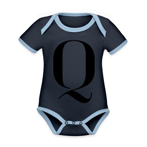 Q - Organic Baby Contrasting Bodysuit