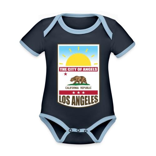 Los Angeles - California Republic - Organic Baby Contrasting Bodysuit