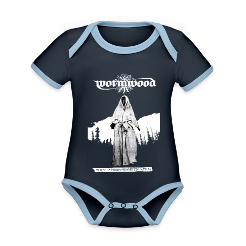 Women's Witch Print - Organic Baby Contrasting Bodysuit