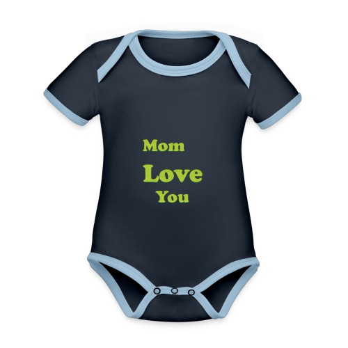 Nameless 3 - Organic Baby Contrasting Bodysuit