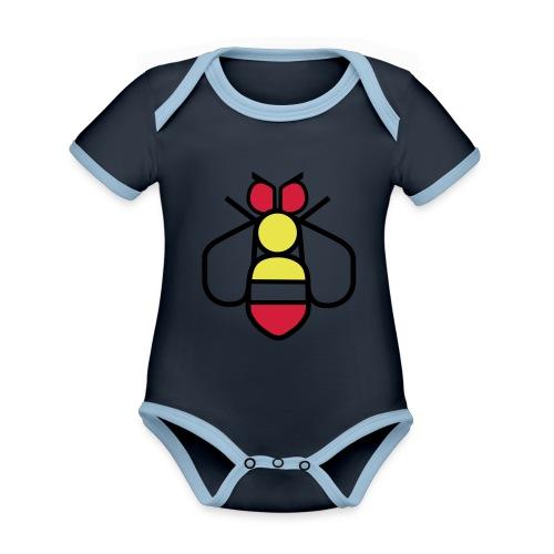 Bee - Organic Baby Contrasting Bodysuit