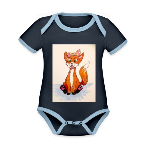 7095A012 2DFD 428F A704 98066BE12671 - Organic Baby Contrasting Bodysuit