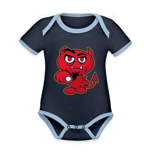 Monster Devil - Organic Baby Contrasting Bodysuit