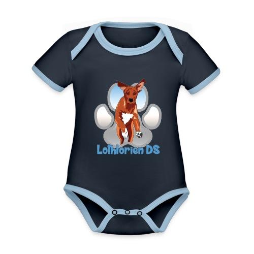Lothlorien - Organic Baby Contrasting Bodysuit