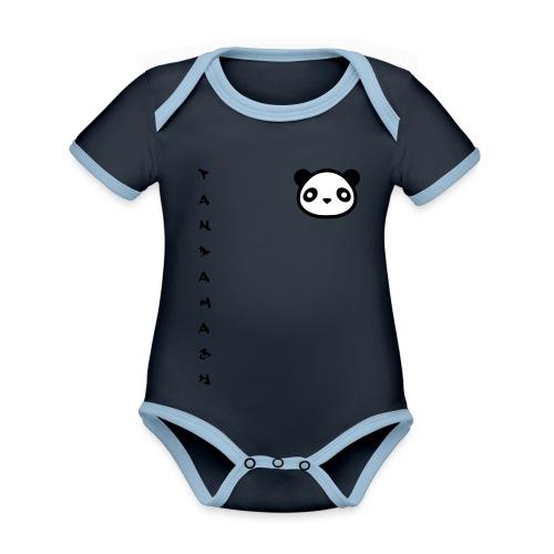 pandamash - Organic Baby Contrasting Bodysuit