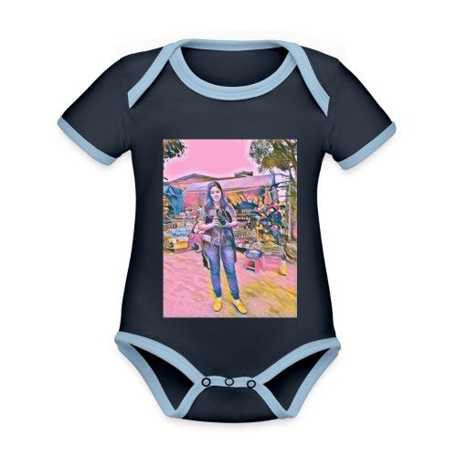 238745309072202 - Organic Baby Contrasting Bodysuit