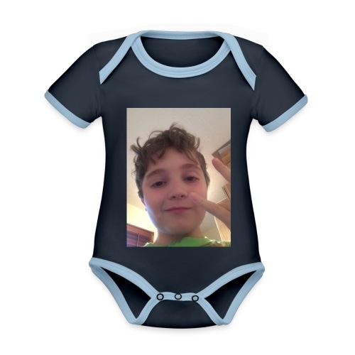 Champion321merch - Organic Baby Contrasting Bodysuit