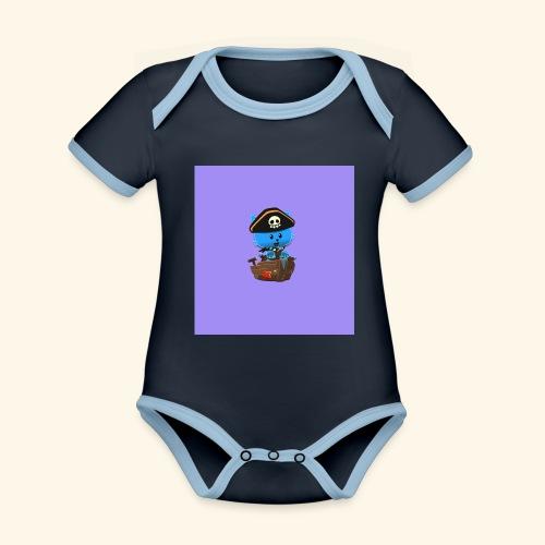 HCP custo 1 - Organic Baby Contrasting Bodysuit