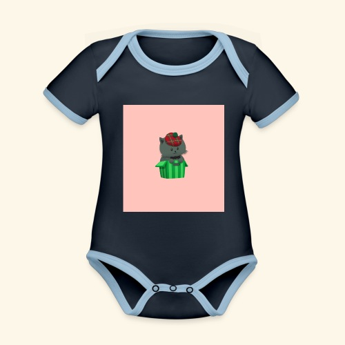 HCP custo 7 - Organic Baby Contrasting Bodysuit