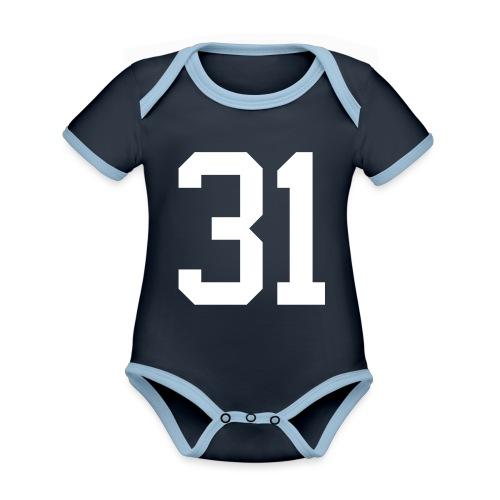 31 ZWINZ Bernhard - Baby Bio-Kurzarm-Kontrastbody