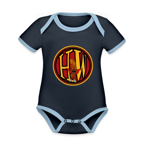 superhw stikker incl worst png - Organic Baby Contrasting Bodysuit