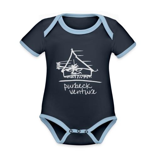 PV Active 2015 - Organic Baby Contrasting Bodysuit